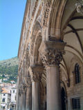 Dubrovnik. Beautiful architecture of the old city of Dubrovnik, Croatia, Europe, Adriatic Royalty Free Stock Photos