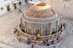 Dubrovnik big onofrio Royalty Free Stock Photos