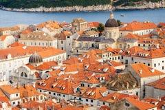 Dubrovnik bird's eye view Royalty Free Stock Photo
