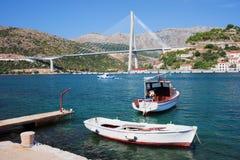 Dubrovnik-Brücke Stockbilder
