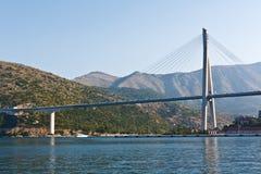 Dubrovnik bridge Stock Image