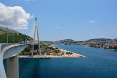 Dubrovnik Bridge Royalty Free Stock Image