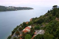 Dubrovnik-Buchtansicht, Kroatien Lizenzfreie Stockfotos