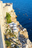 Dubrovnik bufeta kajakarstwo zdjęcia royalty free