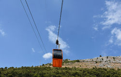 Dubrovnik cable car stock photography