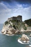 Dubrovnik castle 1 Royalty Free Stock Images