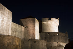 Dubrovnik castle Stock Photography