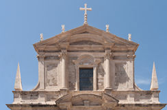 Dubrovnik Cathedral. On a sunny day Royalty Free Stock Image