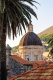 Dubrovnik cathedral dome Royalty Free Stock Photography