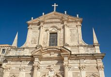 Free Dubrovnik Cathedral Of The Assumption Of The Virgin Mary Royalty Free Stock Image - 123507126