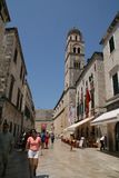 Dubrovnik central street, Croatia Royalty Free Stock Photo