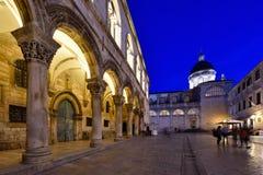 DUBROVNIK CHORWACJA, Dubrovnik, - Stary miasteczko obraz stock