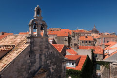 Dubrovnik. Church in Dubrovnik on a summer day stock photography