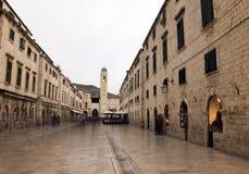 Dubrovnik - cidade velha Fotografia de Stock Royalty Free