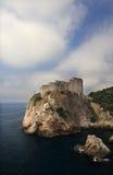 Dubrovnik citadel - Croatia. The Dubrovnik citadel on the Adriatic Sea Stock Photography