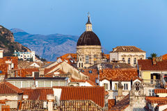 Dubrovnik city in Croatia Royalty Free Stock Image