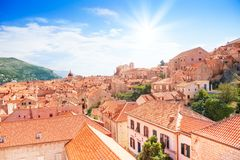 Dubrovnik city view Stock Photos