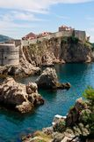 Dubrovnik City Walls Stock Photography