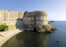 Dubrovnik city walls Stock Photo