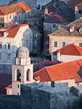 Dubrovnik city walls Stock Photography
