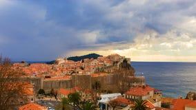 Dubrovnik City walls. Croatia. Stock Photography