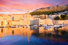 Dubrovnik City walls. Croatia. Stock Photos