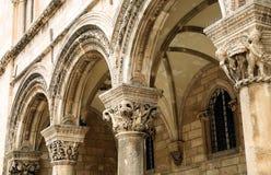 Dubrovnik - ciudad vieja Foto de archivo libre de regalías