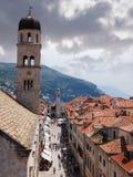 Dubrovnik, ciudad vieja Imágenes de archivo libres de regalías