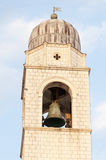 Dubrovnik clock tower Royalty Free Stock Image