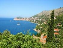 Dubrovnik Coast Royalty Free Stock Image