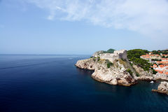 Dubrovnik coastline Stock Photo