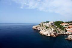 Dubrovnik coastline Stock Photo