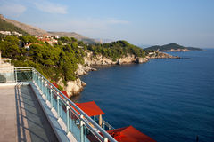 Dubrovnik Coastline at Adriatic Sea in Croatia Royalty Free Stock Image
