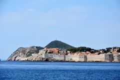 Dubrovnik coastline Stock Photos