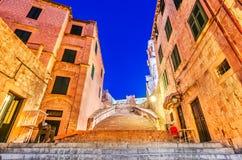 Dubrovnik, Croácia - cidade velha Ragusa Fotos de Stock