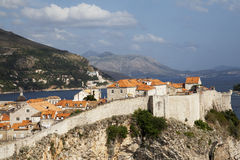 Dubrovnik in Croatia Royalty Free Stock Photos
