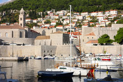 Dubrovnik, Croatia. A panoramic view of city Dubrovnik, Croatia Stock Image