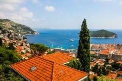Dubrovnik croatia fotografia stock