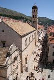Dubrovnik croatia obraz stock