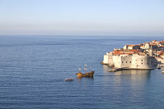Dubrovnik, Croatia. Dubrovnik, Historical city in Croatia, UNESCO world heritage royalty free stock photography