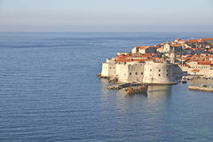 Dubrovnik, Croatia. Medieval City of Dubrovnik in Croatia, UNESCO world heritage royalty free stock photo