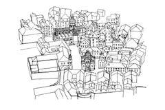 Dubrovnik, Croatia royalty illustrazione gratis