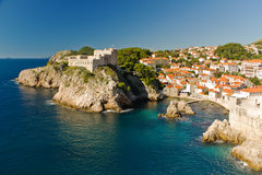 Dubrovnik, Croatia on the Adriatic Sea Royalty Free Stock Photography