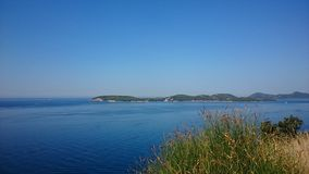 Dubrovnik. Croatia adriatic sea alafiti islands royalty free stock photography