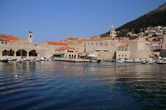 Dubrovnik. Croatia Adriatic sea old town Royalty Free Stock Image