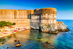 Dubrovnik, Croatia - Adriatic Sea Royalty Free Stock Photos