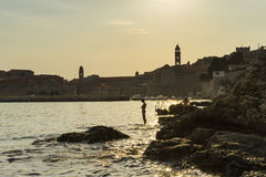 Dubrovnik, Croatia, August 3 2017 Royalty Free Stock Photos