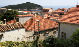 Dubrovnik. Croatia. Dubrovnik. Beautiful view of the fortress and the city. Dubrovnik is one of the most beautiful cities in Croatia, located in the south of Stock Images