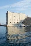 Dubrovnik Croatia Boat Marina Scenic Royalty Free Stock Image