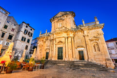 Dubrovnik, Croatia - The Cathedral Royalty Free Stock Photography